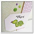 June's <b>Challenge</b> - Hello Friend Turtle