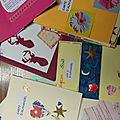 Cartes d'Alphanoël poèmesde6e de Sainte Elisabeth pour MarchédeNoël 6décembre14!