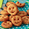 <b>Pommes</b> de <b>terre</b> frites sourires (potatoes smiley)