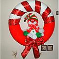 <b>Couronne</b> de Noël