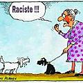 racisme humour chien sos arabe gauchiste