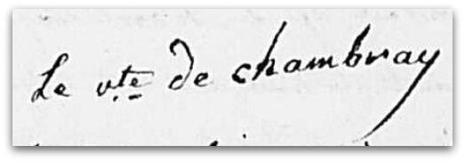 Chambray signature z