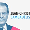 DIMANCHE EN POLITIQUE SUR FRANCE 3 N°24 : JEAN-CHRISTOPHE <b>CAMBADELIS</b>