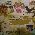 Mail art pour une postière