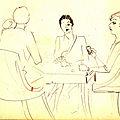 Lettre de Denise à Philippe, Paris, ce samedi 24 octobre 1931