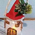 Noël : une petite lanterne.