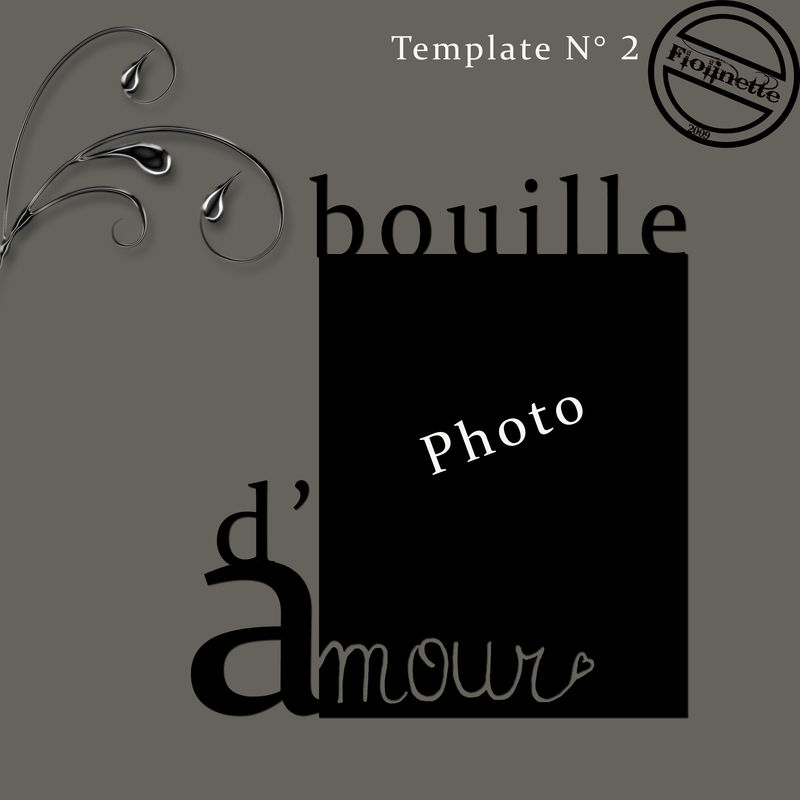 Template Bouille d'amour