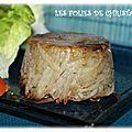 Ecrins de pommes de terre au foie gras
