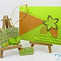 Carte et <b>étiquettes</b> cadeau - Card and tag set