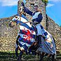 Les ruines de commequiers , château du chevalier et seigneur louis ii de beaumont-bressuire