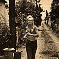 1951, Los Angeles - Marilyn fait du sport