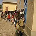 La première rentrée dans la nouvelle classe primaire : mi -mai 2012