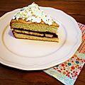 Gâteau aux bananes et nutella [sev)