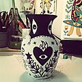 Petit vase peint ...