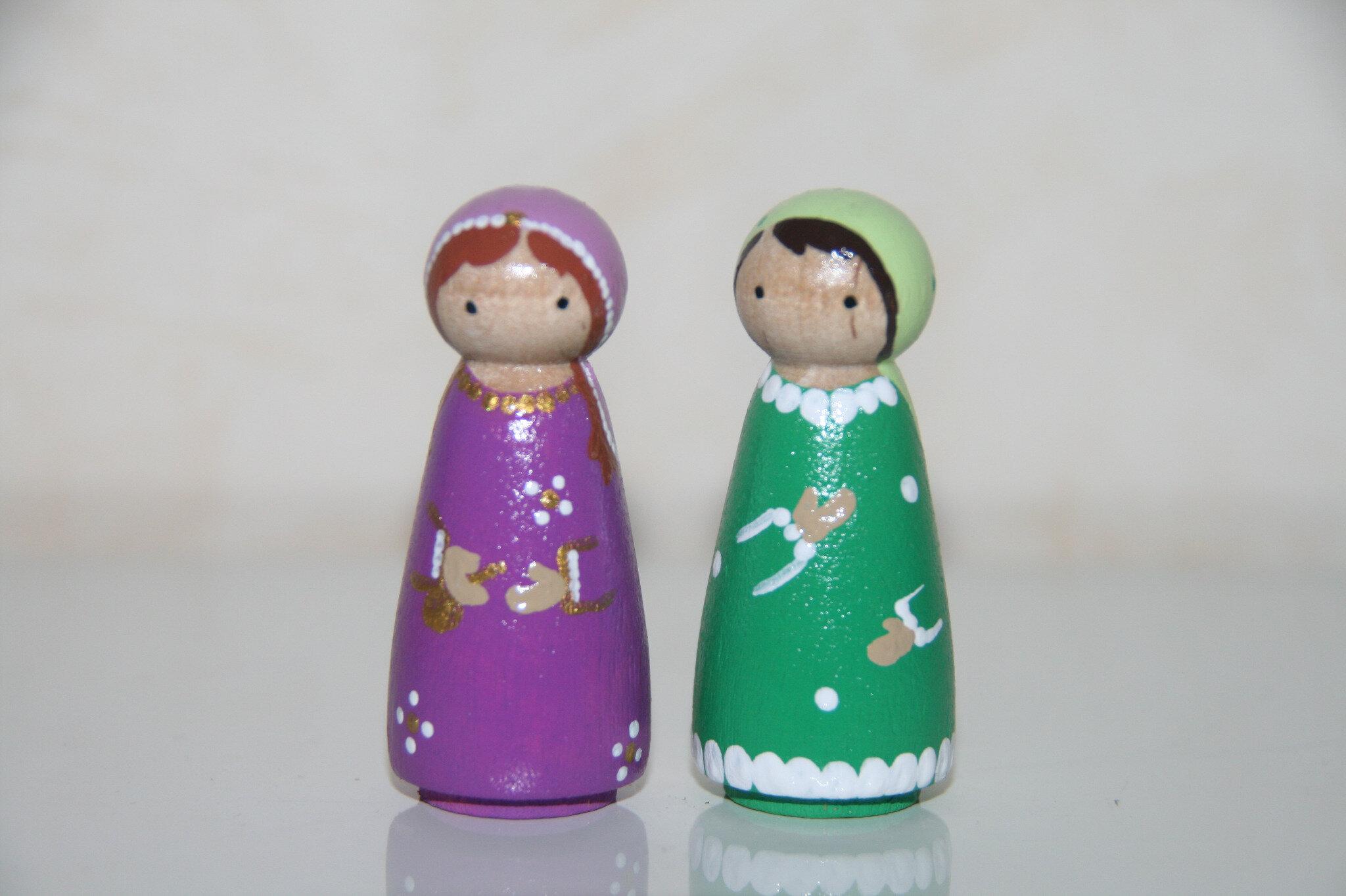 Marie-Madeleine et sainte femme