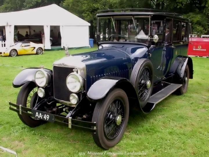1925 - Minerva Limousine Landaulette