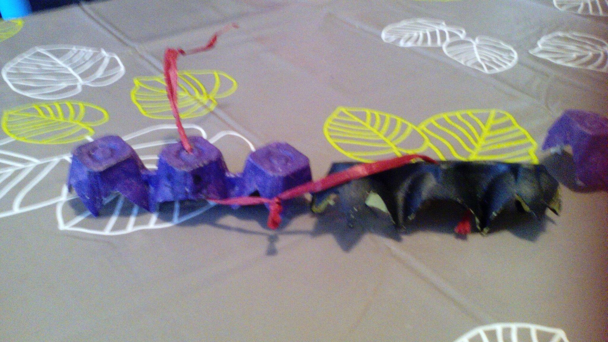 Halloween créations boîte à oeufs