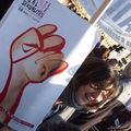 Mobilisation pour les droits des femmes à paris, 17/10/09