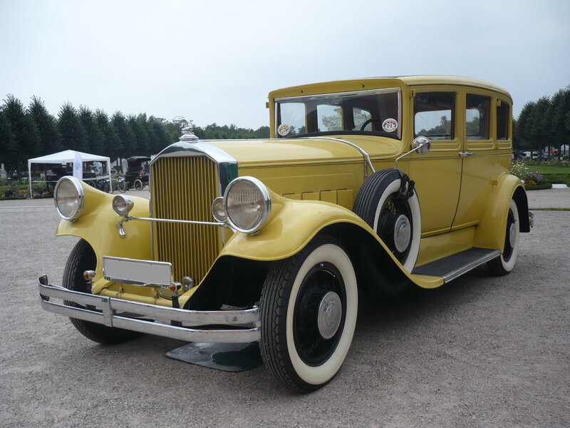PIERCE ARROW type 55 4door Sedan 1929 Schwetzingen (1)