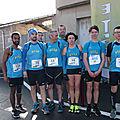 849 - course 10 km de St Affrique + enfants - 1 avril 2018