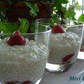 Perles japon au lait de coco