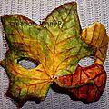 Masque automne