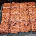 Gâteau tablette au chocolat au thermomix