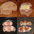 Escalopes de poulet façon saltimbocca ou presque...