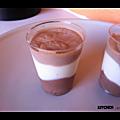 Verrine 3 chocolats de christophe felder