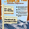 Forum de l'emploi 2012