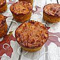 Gâteaux moelleux à la courge et à l'amande (sans gluten)
