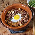 Riz sauté au kimchi style dolsot bibimbap