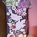 Un tag en mode shabby