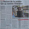 TOUTES MES FELICITATIONS A ELISE, <b>LIBRAIRE</b> A LA <b>LIBRAIRIE</b> PEROTIN MAISON DE LA PRESSE DE ROUSSILLON !
