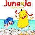 June et jo : le rire des oursins, de séverine vidal & illustré par amélie graux
