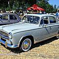 Peugeot 403 grand luxe de 1958 (6ème fête autorétro étang d' ohnenheim)