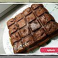 { thermomix } brownies au caramel beurre salé