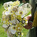 Bouquet Anis et crème DIY