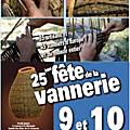 Fête de la vannerie les 09 et 10 août prochains en provence