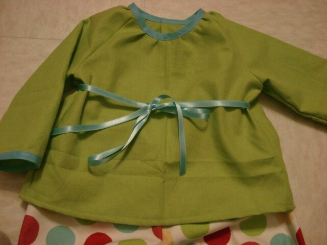 Brassière verte/turquoise