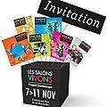 Gagnez 4x2 invitations pour les salons vivons du 7 au 11 novembre 2015 à bordeaux