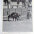<b>CORRIDA</b> MADRID <b>ESPAGNE</b> TORERO MIGUEL FREG 1914 SC 314