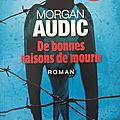 De bonnes raisons de mourir - <b>Morgan</b> Audic