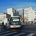 Avec c13, lyon développe son réseau de trolleybus