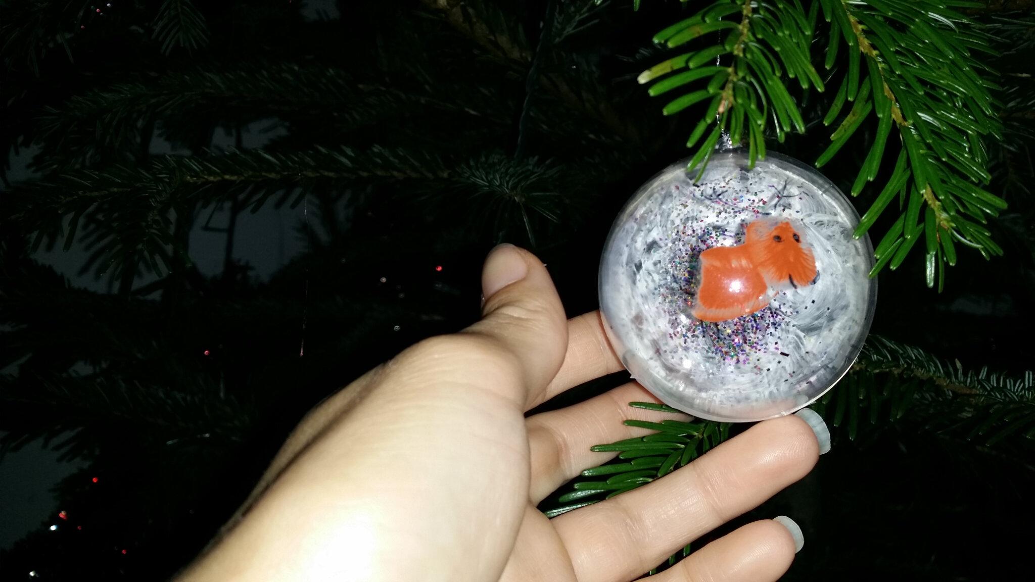 Boule de Noël enfant