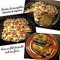 Gratin de courgettes, tomates & oignons