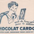 Buvards anciens, spécial chocolat!