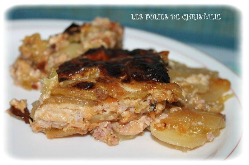Gratin courgettes jambon pommes de terre comt les folies de christalie ou quand la - Quand semer les courgettes ...