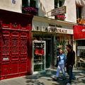 Instantané rue Saint-Sulpice.