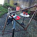 Single speed fixie ve´lo rouille rusty 13